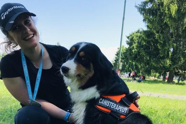 Intervencie s asistenciou psov Canisterapia